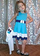 Детское платье с болеро для девочки , фото 1