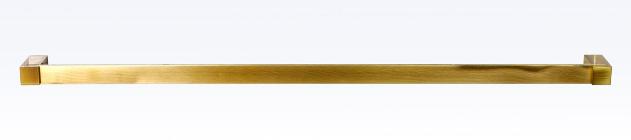 Тримач рушників одинарний 60 см серія Viya бронза