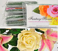 Холодный фарфор Fantasy Floral для реалистичных цветов,цвет темно-зеленый травяной