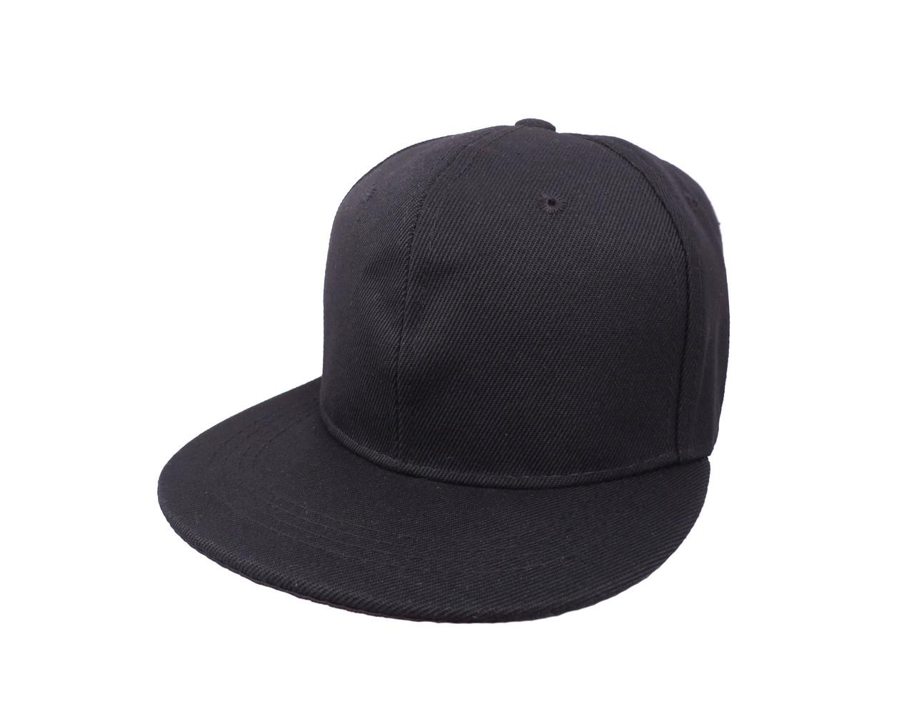 Кепка черная снепбек