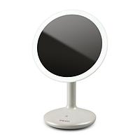 Косметическое зеркало с 5х увеличением, сенсорной регулируемой светодиодной подсветкой, аккумулятором, зарядка
