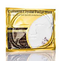 Белая маска Collagen Crystal Facial Mask для лица кристальный коллаген