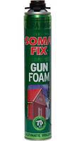 Пена монтажная SOMA FIX профессиональная зима MEGA ULTRA 870 мл (выход 75 л)