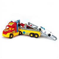 Игрушечная машина Перевозчик с трактором 36620 ТМ Wader