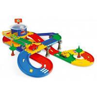 Детский гараж с дорогой 53130 Wader (5,5м)