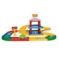 Детский гараж с дорогой 53020 Wader (3,4м)