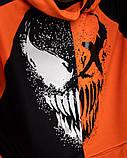 Спортивний костюм Benimaru O чорно-помаранчевий, фото 4