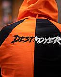 Спортивный костюм Benimaru O черно-оранжевый, фото 5