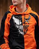 Спортивный костюм Benimaru O черно-оранжевый, фото 6