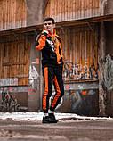 Спортивний костюм Benimaru O чорно-помаранчевий, фото 7