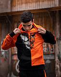 Спортивный костюм Benimaru O черно-оранжевый, фото 8