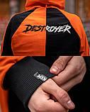 Спортивный костюм Benimaru O черно-оранжевый, фото 9