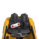 Детский Электромобиль Bambi M 4281EBLR-6 желтый, фото 4