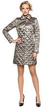 Модная куртка женская цвет кварцевый модель 20856