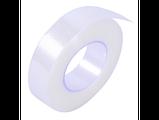 Професійна стрічка-скотч під очі для нарощування і корекції вій силіконова, 9 мм, фото 3