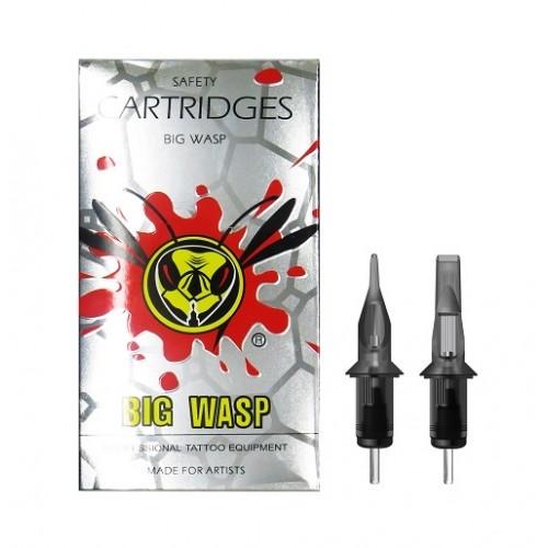 Картриджі модулі для тату і татуажу стерилізовані BIG WASP Gray Prestige 1201RL (20 штук)