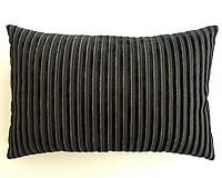 Подушка черная Sacho