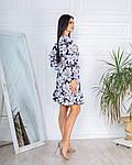 Женское платье, супер - софт, р-р 42-44; 46-48 (тёмно синий), фото 2