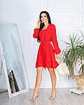 Жіноче плаття, супер - софт, р-р 42-44; 46-48 (червоний), фото 3