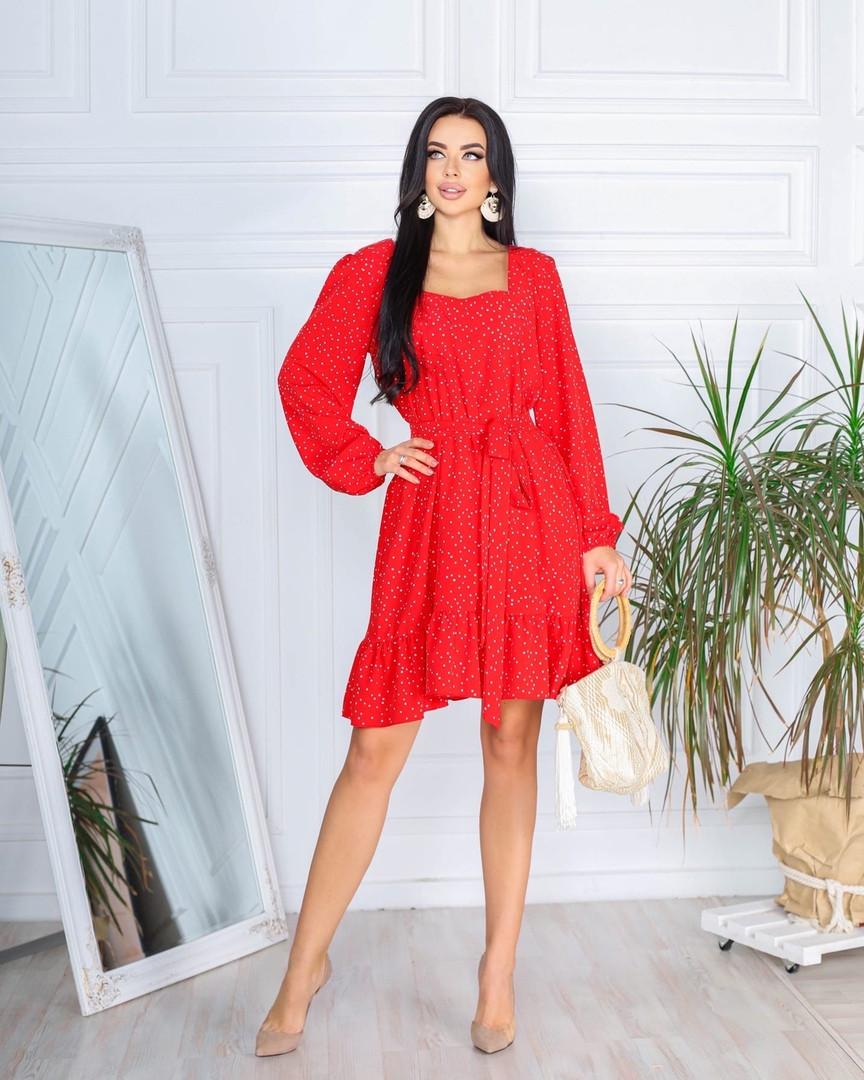 Жіноче плаття, супер - софт, р-р 42-44; 46-48 (червоний)