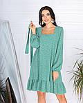 Женское платье, супер - софт, р-р 42-44; 46-48 (оливковый), фото 2