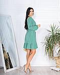 Женское платье, супер - софт, р-р 42-44; 46-48 (оливковый), фото 3