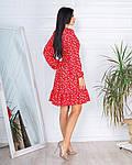 Женское платье, супер - софт, р-р 42-44; 46-48 (красный), фото 2