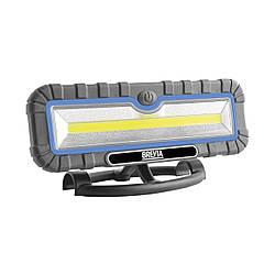 Ліхтар для СТО для полювання для риболовлі світлодіодний Brevia 10W COB 1000lm 4000mAh (11510)