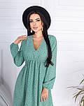Женское платье, супер - софт, р-р 42-44; 46-48 (оливка), фото 2