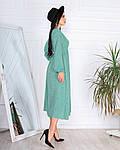 Женское платье, супер - софт, р-р 42-44; 46-48 (оливка), фото 3