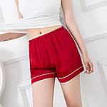 Шорті домашні жіночі Basic, червоний Berni Fashion