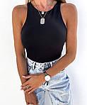 Жіночі боді, микродайвинг, р-р 42-44; 46-48 (чорний), фото 2