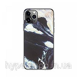 Защитная 3D пленка на телефон Серый Мрамор