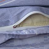 Євро комплект постільної білизни з компаньйоном S334, фото 4