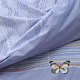 Євро комплект постільної білизни з компаньйоном S334, фото 9