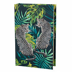 Книга сейф Леопарды 26 см
