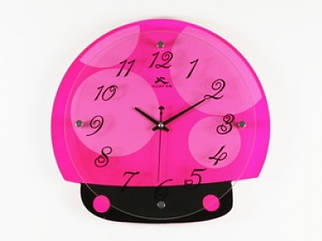 Настенные Часы Божья Коровка purpul