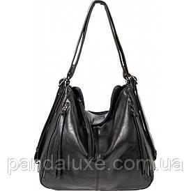 Сумка жіноча шкіряна сумка хобо-рюкзак