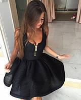 Красивое платье со змейкой