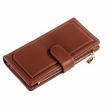 Гаманець двосекційний ClassicSeries коричневий, еко шкіра, 3306 Brown