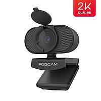 Веб-камера 2K QUAD HD 2688*1520 (4.0 M Pixels) стерео мікрофони професійна стриминговая вебкамера з, фото 1