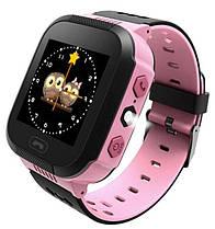 Детские, смарт часы Q150S Pink с GPS