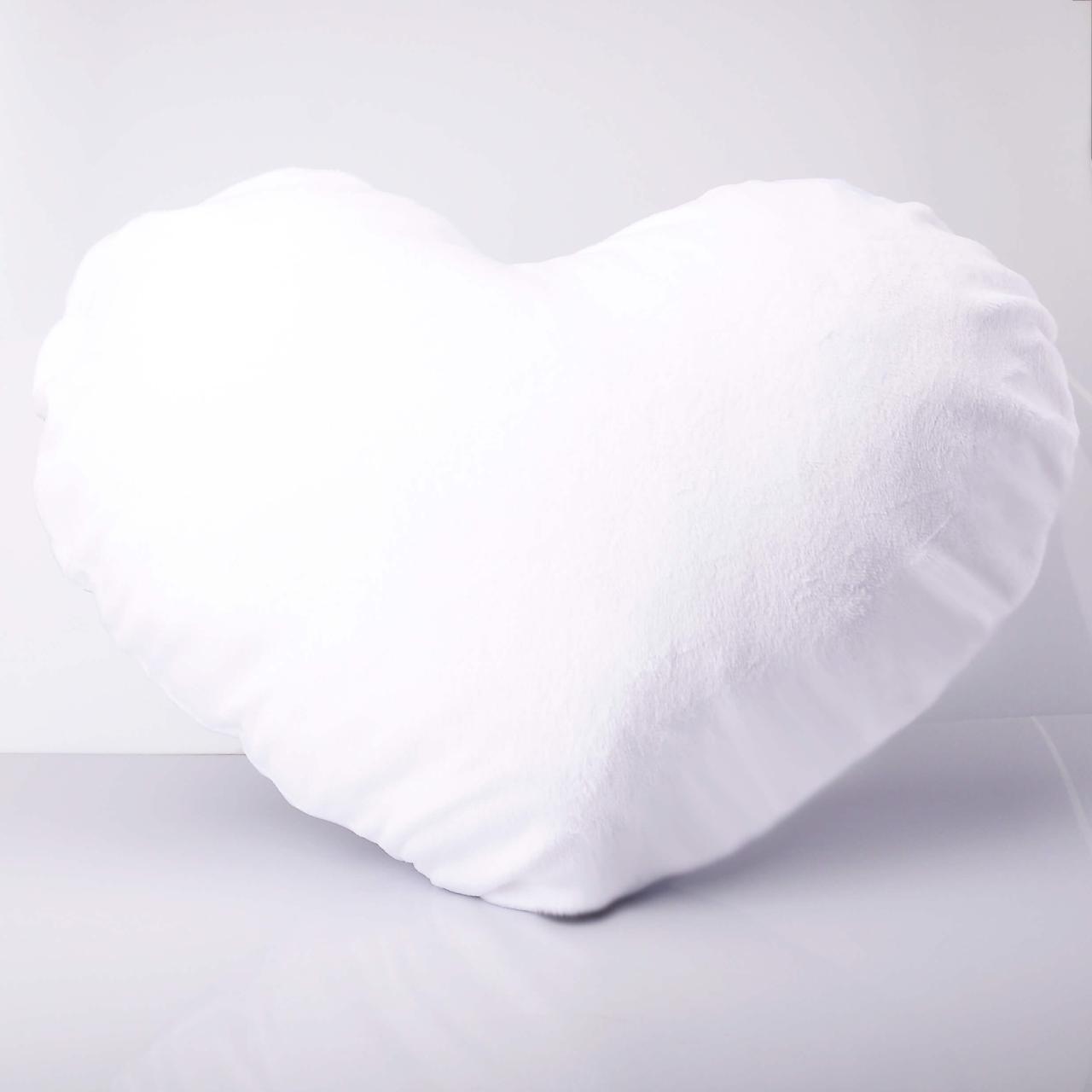 Подушка плюш Сердце А4