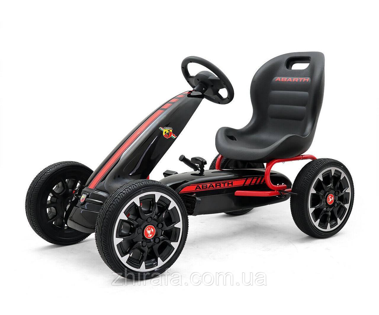 Детский педальный автомобиль Картинг Веломобиль Abarth