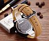 Чоловічі кварцові годинники CURREN ЧОРНІ на ремінці, фото 2