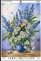А3Н_051 . Схема для вишивки бісером Букет польових квітів