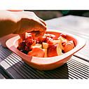 Мисочки для кормления глубокие  Nip, эко-серия Green, 2 шт., 300 мл, розовый (37065), фото 6