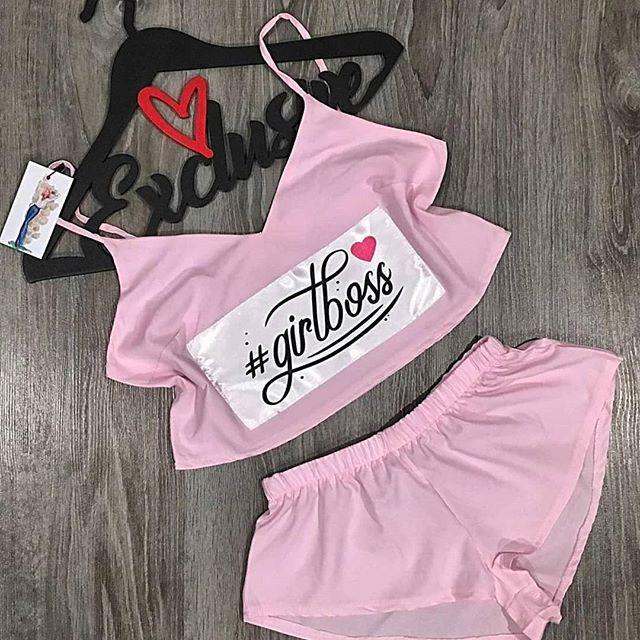 Женская пижама, софт, р-р 42-44; 44-46 (нежно розовый)
