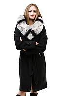 Пальто зимнее женское черное. Размеры: 42-54