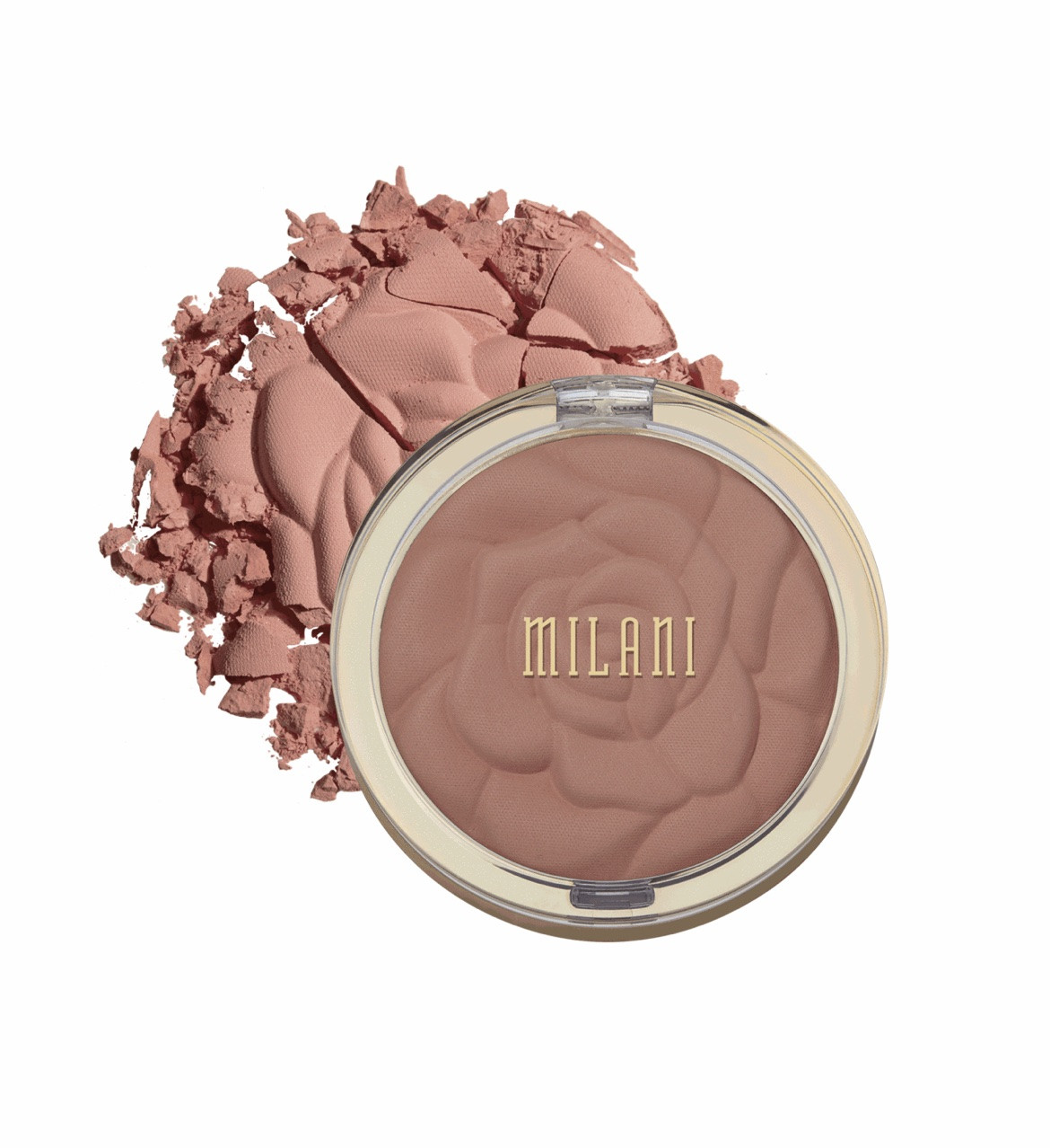 Рум'яна для обличчя Milani Rose Powder Blush 01 Romantic Rose